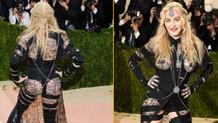 MET Gala kostüm partisinin yıldızı Madonna!