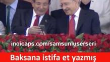 Erdoğan ve Davutoğlu capsleri