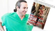 Eşcinsel hastasıyla alay eden doktora büyük tepki