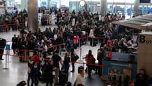 Havalimanı'nda taciz: Gözle kontrol ettim, ellemedim