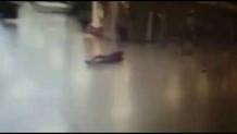 Atatürk Havalimanı saldırısında teröristin vurulma anı