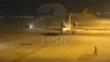 İşte Erdoğan'ın uçağı İstanbul'a böyle indi!