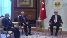 Cumhurbaşkanlığı Külliyesi'nde liderler zirvesi!