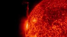 NASA'dan Güneş'te meydana gelen patlamalara ait yeni görüntüler!