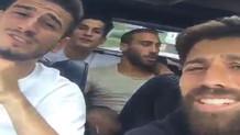 Beşiktaşlı futbolculardan Günah benim suç benim şarkısı!