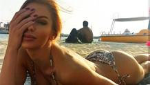 Playboy takvim modeli Eva Cifrova Bodrum'da