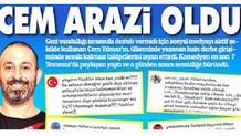 Cem Yılmaz'dan Güneş gazetesine tepki: Ahlaksız haber, profesyonel kötüler!