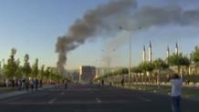 Cumhurbaşkanlığı Külliyesi'ne uçaktan işte böyle bomba atıldı!