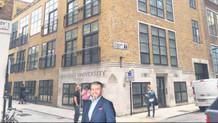Londra'da ilk Türk üniversitesi açıldı!