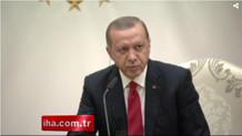 Erdoğan'dan ABD'li gazeteciye ayar