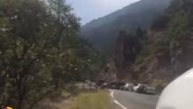 Kılıçdaroğlu'nun konvoyuna saldırı anı!