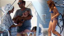 Zeynep Beşerler eşi ve oğlu ile tatilde!