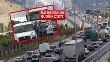 Yavuz Sultan Selim Köprüsü'nde selfie trafiği yüzünden kavga çıktı