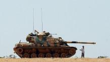 Cerablus'ta Türk tankına saldırı: 1 şehit, 2 yaralı