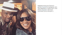 Eto'o'yu uçakta Işın Karaca yakaladı