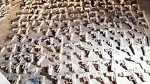 Üsküdar'da kazı başladı yeni silahlar bulundu