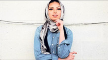 Playboy'a poz veren ilk türbanlı kadın Noor Tagouri