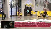 Zuhal Topal'da canlı yayında olay