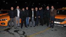Havalimanı taksicilerinden indi-bindi ücreti protestosu