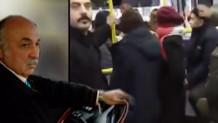 Yolculara alınan otobüs şöförü yolcuları indirdi