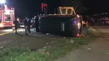 Son Dakika! Erdoğan'ın Koruma Ekibini Taşıyan Minibüs Kaza Yaptı: 4 Yaralı