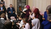 Cumhurbaşkanı Erdoğan, Eren Bülbül'ün ailesini ziyaret etti