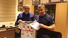Şenol Güneş'ten Qarabağ Kulübü'ne ziyaret