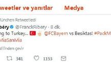 Bayern Münihli futbolcuların Beşiktaş paylaşımı