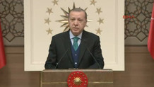 Cumhurbaşkanı Erdoğan TÜBA Ödül Töreninde konuşuyor: CANLI