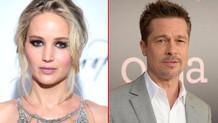 Jennifer Lawrence ve Brad Pitt aşk yaşıyor