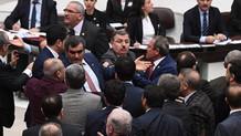 Meclis'te vatan haini ve alçak kavgası