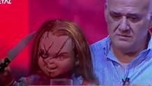 Ahmet Çakar kaybolan oğlu Chucky ile buluştu gözyaşlarını tutamadı