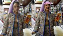 Rihanna'nın Kraliçe Elizabeth fotoğraflarına tepki!