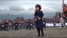 6 yaşındaki Kazım Zeybek Şenol'un zeybek dansı