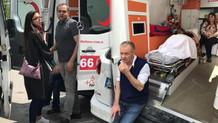 Yatalak hasta olan eşinden ambulansta boşandı