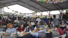 CHP Diyarbakır'da ilk defa iftar çadırı açtı