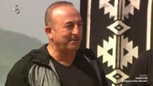 Dışişleri Bakanı Mevlüt Çavuşoğlu'ndan Survivor sürprizi