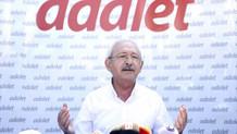 CHP Genel Başkanı  Kılıçdaroğlu: Adalet Yürüyüşü bayrama ayrı bir anlam katacaktır