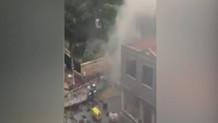 Şişhane metro girişinde patlama!