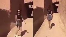 Mini etek giydiği için tutuklanan kadın serbest bırakıldı