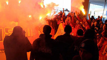 Galatasaraylı oyuncular Florya'ya gelmedi