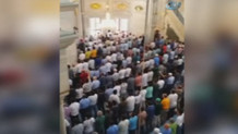 Cuma namazında İstiklal Marşı'nı söylediler