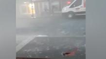 İstanbul'da yağmur ve fırtına! İnanılmaz görüntüler