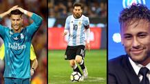 Geçen yıl Cristiano Ronaldo kazanmıştı! FIFA'dan yılın oyuncu adayları