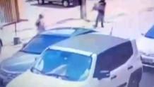 Kız arkadaşına sokak ortasında kurşun yağdırdı