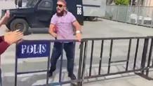 Cumhuriyet davasında Ahsen TV muhabiri ortalığı karıştırdı