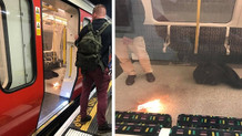 Londra'daki Tower Hill metro istasyonunda patlama