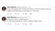 Dilek Öcalan'ın hesabından şok mesajlar atılınca...