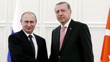 Erdoğan ve Putin'den Zeytin Dalı harekatı görüşmesi