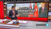 Fatih Portakal'ın canlı yayında sinekle imtihanı